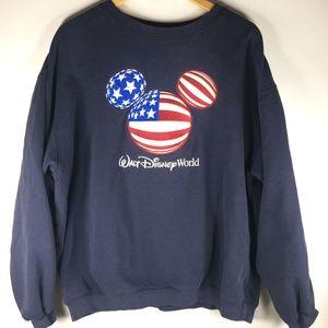 Walt Disney World Vintage Pullover Sweater USA XL